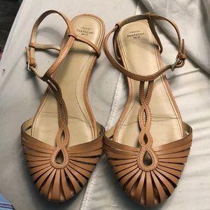Zara 'ss flat strappy sandals